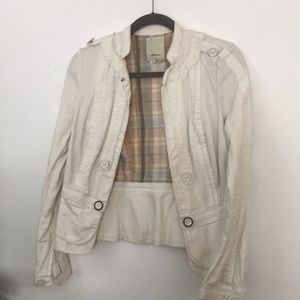 Anthropologie Elevenses Jacket